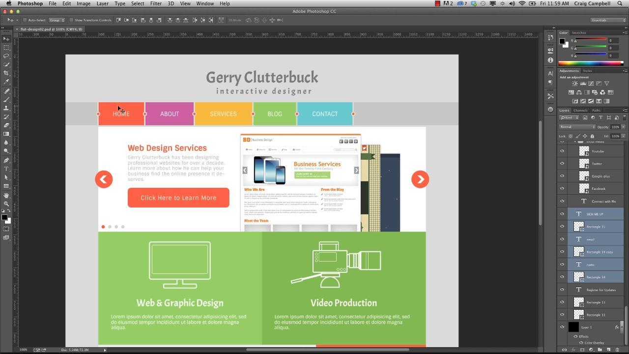 Дизайн сайта — что нужно знать при разработки